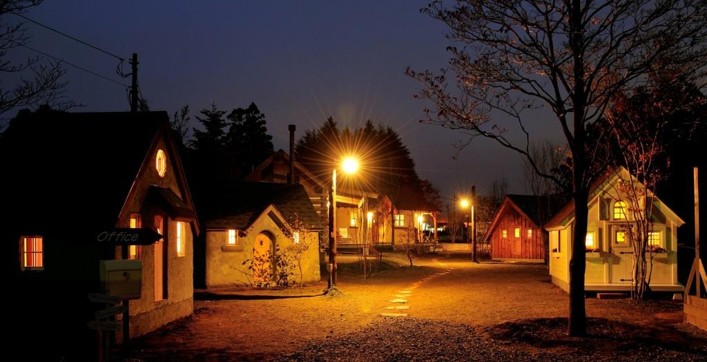 カントリータウン 夜景